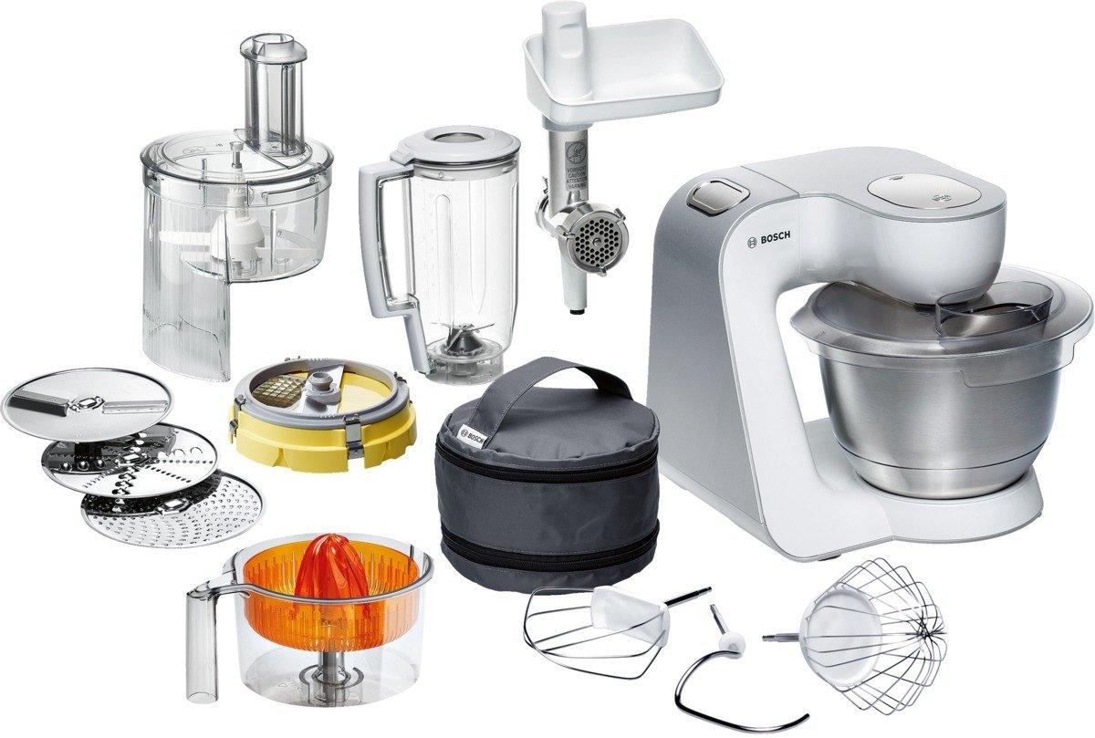 ᐅ Die Bosch MUM54251 Küchenmaschine im Test ᐅ Unterschiede der MUM5