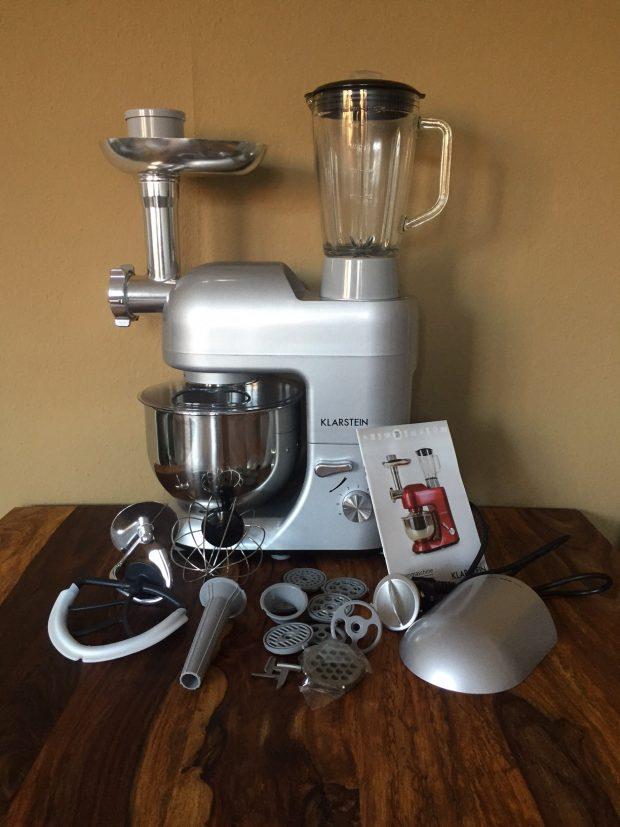 1200 klarstein test watt küchenmaschine
